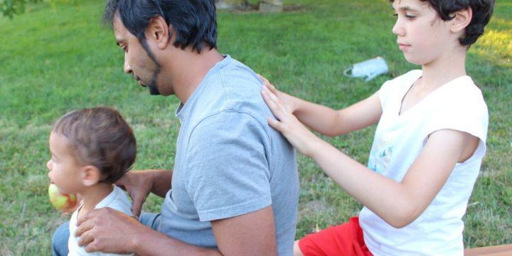 Massage famille Slider